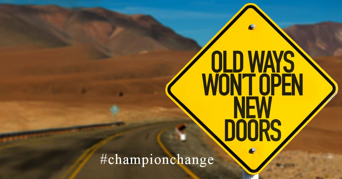 Become a champion of change