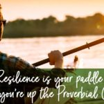 Resilience is your paddle when you are up the proverbial creek