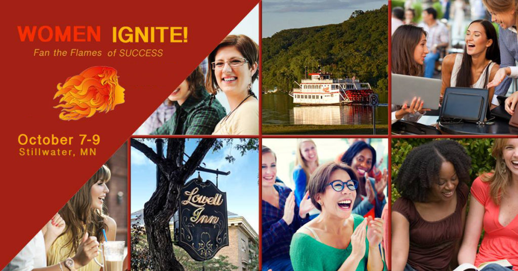 Women Ignite Women's Conference in Stillwater, MN Oct 7-9, 2018