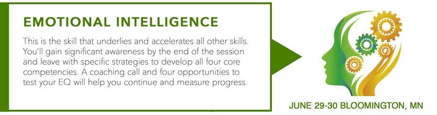 Emotional Intelligence Course Schedule for 2020