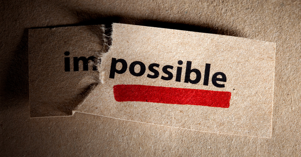Impossible is I'm Possible